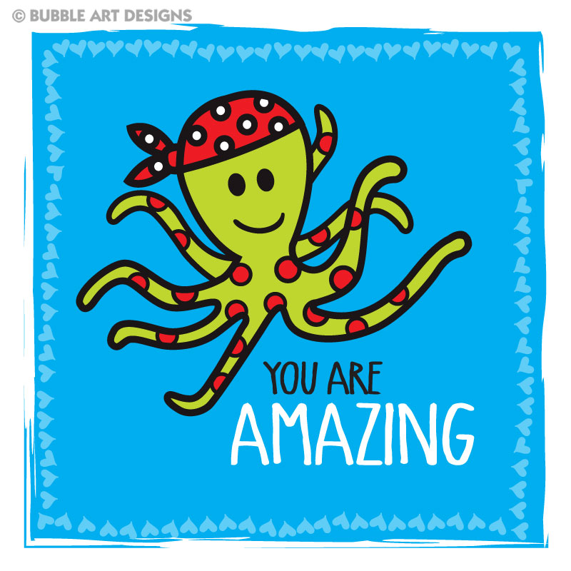 you-are-amazing-blue